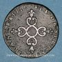 Coins Louis XIV (1643-1715). 6 deniers dits dardenne 1710 N. Montpellier