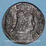 Coins Louis XIV (1643-1715). Comté de Barcelone. Sizain 1645. Barcelone