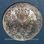 Coins Louis XIV (1643-1715). Ecu aux 3 couronnes 1715 D. Lyon