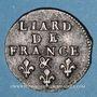 Coins Louis XIV (1643-1715). Liard de France au buste âgé, 3e type, 1693 &. Aix