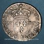 Coins Louis XIV (1643-1715). Monnayage particulier de Strasbourg. 11 sols 1710 BB