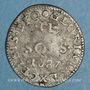 Coins Louis XIV (1643-1715). Monnayage particulier de Strasbourg. II sols de Strasbourg 1687