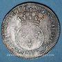 Coins Louis XV (1715-1774). 1/10 écu vertugadin 1716 A. Réformation