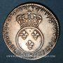 Coins Louis XV (1715-1774). 1/10 écu vertugadin 1716 &. Aix. Réformation !