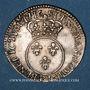 Coins Louis XV (1715-1774). 1/10 écu vertugadin 1716 P. Dijon. Réformation !