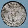 Coins Louis XV (1715-1774). 1/2 sol d'Aix 1771 &