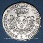 Coins Louis XV (1715-1774). 1/5 écu au bandeau 1769/6 L. Bayonne