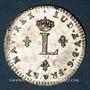 Coins Louis XV (1715-1774). Double sol en billon 1762 BB. Strasbourg