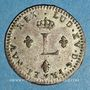 Coins Louis XV (1715-1774). Double sol en billon 1762 BB. Strasbourg