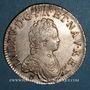 Coins Louis XV (1715-1774). Ecu vertugadin 1716. Rennes