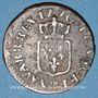 Coins Louis XV (1715-1774). Liard à la vieille tête 1770 BB. Strasbourg