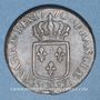Coins Louis XV (1715-1774). Sol à la vieille tête 1770 BB. Strasbourg