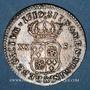 Coins Louis XV (1715-1774). XX sols de Navarre 1719 &. Aix