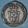Coins Louis XV (1715-74). Sol d'Aix 1767/6 &. Aix. Inédit !