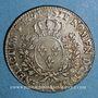 Coins Louis XVI (1774-1793). 1/2 écu aux lauriers 1791 A (pointé à gauche). Léopard. 2e semestre