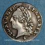 Coins Louis XVI (1774-1793). 6 sols à la vieille tête de Louis XV 1779 A. 2e semestre