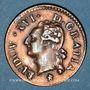 Coins Louis XVI (1774-1793). Liard 1782 &. Aix. Etoile