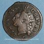 Coins Louis XVI (1774-1793). Liard 1785 BB. Strasbourg