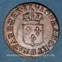 Coins Louis XVI (1774-1793). Liard 1791 B. Rouen. 2e semestre. Intéressante curiosité !