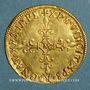 Coins Charles IX (1560-1574). Ecu d'or au soleil 1568 M. Toulouse