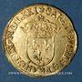Coins Charles IX (1560-1574). Ecu d'or au soleil 1571 A