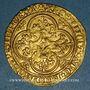 Coins Charles VI (1380-1422). Ecu d'or à la couronne. 4e émission. Point 18e, Paris