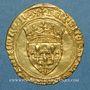 Coins Charles VII (1422-1461). Ecu d'or. 3e émission. Toulouse, point 5e