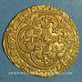 Coins Charles VII (1422-1461). Ecu d'or à la couronne. 1er type (21 janvier 1423). Toulouse (point 5e)