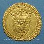 Coins Charles VII (1422-1461). Ecu d'or à la couronne. 2e émission. Point 9e. La Rochelle