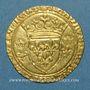 Coins Charles VII (1422-1461). Ecu d'or à la couronne. 3e type, 3e émission. Tours, point 6e