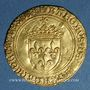 Coins Charles VIII (1483-1498). Ecu d'or au soleil. 1ère émission (11 septembre 1483). Bourges (lettre B)