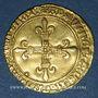 Coins Charles VIII (1483-1498). Ecu d'or au soleil. 1ère émission (11 septembre 1483). Paris (point 18e)