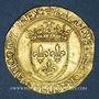 Coins Charles VIII (1483-1498). Ecu d'or au soleil. 2 émission (8 juillet 1494). Paris (point 18e)