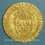 Coins Charles VIII (1483-1498). Ecu d'or au soleil. 2e émission (8 juillet 1494). Paris (point 18e)