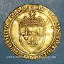 Coins Charles VIII (1483-1498). Ecu d'or au soleil 2e émission. Tours (point 6e)