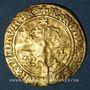 Coins Charles VIII (1483-1498). Ecu d'or au soleil du Dauphiné, 1er type, Grenoble