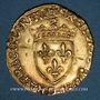Coins François I (1515-1547). Ecu d'or au soleil, 5e type, 3e émission. Limoges (point 10e)