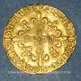 Coins François I (1515-1547). Ecu d'or au soleil, 5e type, 3e émission. Paris (point 18e)