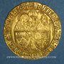 Coins Henri VI (1422-1453). Salut d'or, 2e émission. Rouen