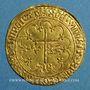 Coins Henri VI (1422-1453). Salut d'or. 2e émission. Rouen