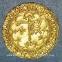 Coins Henri VI d'Angleterre (1422-1453). Salut d'or. 2e émission. Saint-Lô
