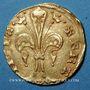 Coins Jean II le Bon (1350-1364). Monnayage particulier pour le Languedoc. Florin d'or