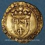 Coins Louis XI (1461-1483). Ecu d'or au soleil. Toulouse (point 5e)