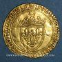 Coins Louis XI le Prudent (1461-1483). Ecu d'or au soleil (2 novembre 1475). Tours. Var. FRANCORVM RVX