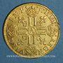 Coins Louis XIII (1610-1643). Louis d'or 1641 A. Type avec mèche longue, baies et IMP*