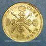 Coins Louis XIV (1643-1715). Louis d'or aux insignes 1704 N. Montpellier. Réformation