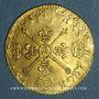 Coins Louis XIV (1643-1715). Louis d'or aux insignes A (date illisible). Réformation