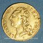 Coins Louis XVI (1774-1793). Louis d'or au buste nu 1786 W. Lille
