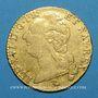Coins Louis XVI (1774-1793). Louis d'or au buste nu 1787 A