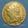 Coins Louis XVI (1774-1793). Louis d'or au buste nu 1787 T. Nantes